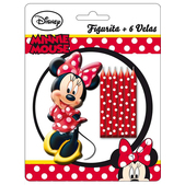 Conjunto de velas Minnie Mouse