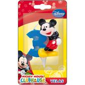 Vela número 3 Mickey Mouse
