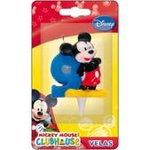 Vela número 9 Mickey Mouse