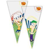 Set de bolsas de cono Phineas y Ferb
