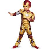Disfraz de Iron Man 3 Deluxe para niño