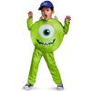 Disfraz de Mike Wazowski Classic para niño