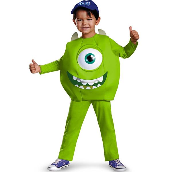 Disfraz de Mike Wazowski Deluxe para niño: comprar online: www.funidelia.es/disfraz-de-mike-wazowski-deluxe-para-nino-9886.html