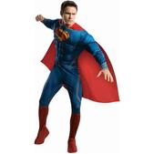 Costume de Superman Man Of Steel musclé pour homme
