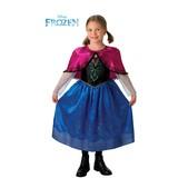 Costume de Anna luxe La reine des Neiges pour fille