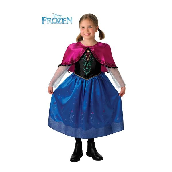 costume de anna luxe frozen pour fille acheter en ligne sur funidelia. Black Bedroom Furniture Sets. Home Design Ideas