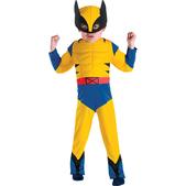 Disfraz de Lobezno X Men musculoso para niño