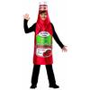 Disfraz de bote de ketchup Zestyville infantil