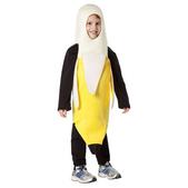 Disfraz de plátano pelado infantil
