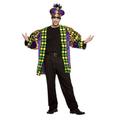 Disfraz de Rey de Mardi Gras