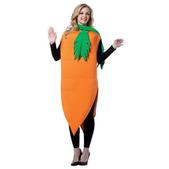 Disfraz de zanahoria para mujer