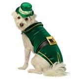 Deluxe Leprechaun Dog Costume