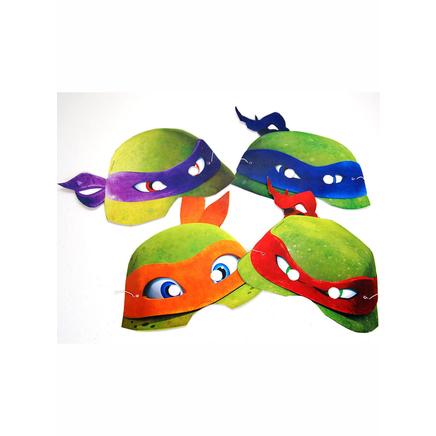 Set De Caretas Tortugas Ninja