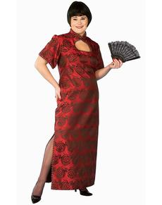 Disfraz de dama oriental fortuna talla grande