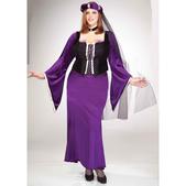 Disfraz de doncella renacentista talla grande