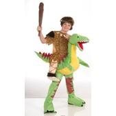 Disfraz de cavernícola con dino infantil