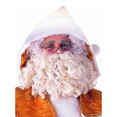 Peluca y barba de Papá Noel