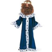 Disfraz de pequeño Rey Melchor para niño