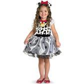 Disfraz de dálmata para niña