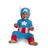 Disfraz de baby Capitán América