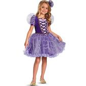 Disfraz de Rapunzel tutú prestige para niña