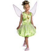 Disfraz de Campanilla alitas para niña