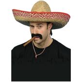 Sombrero mexicano de paja