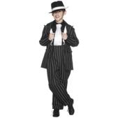 Disfraz de traje gangster Al Capone para niño para niño