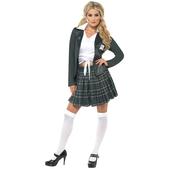 Disfraz de colegiala presumida