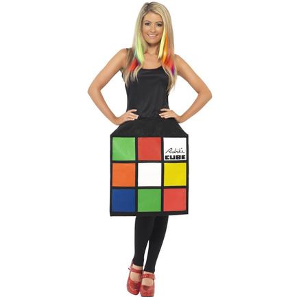 d guisement du rubik 39 cube 3d acheter en ligne sur funidelia. Black Bedroom Furniture Sets. Home Design Ideas