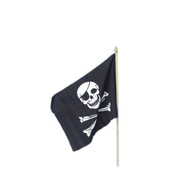 Bandera pirata 45x30cm