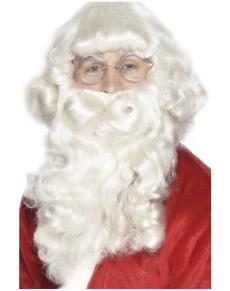 Barba de Santa de lujo blanca