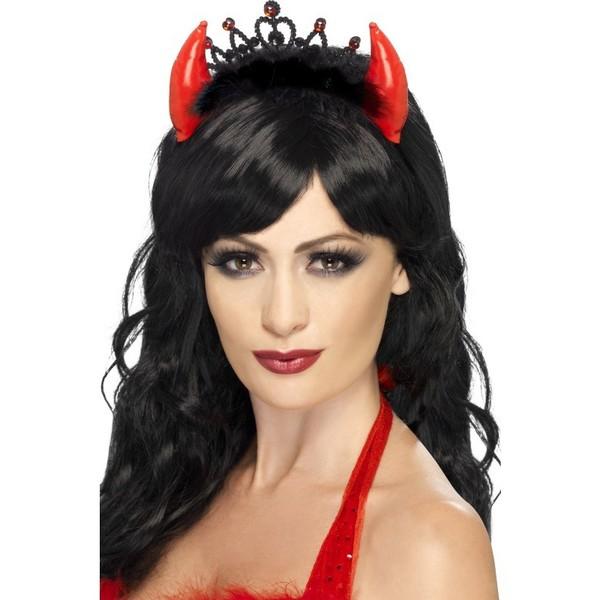 Maquillaje De Diablesa Para Halloween Pasamanos De Escalera