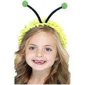Diadema de antenas de mariquita infantil