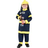 Disfraz de valiente bombero para niño