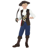 Disfraz del Pirata Jack para niño