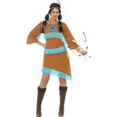 Disfraz de princesa guerrera india