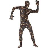 Disfraz camuflaje Segunda Piel