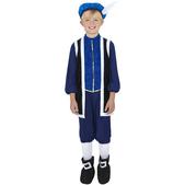 Disfraz de la Dinastía Tudor para niño