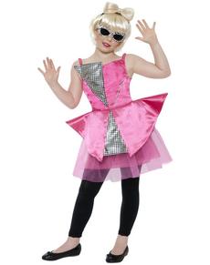 Disfraz de diva del baile para niña