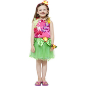 Disfraz de hawaiana Classic para niña