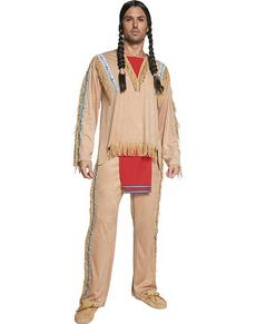 Disfraz de jefe indio del Oeste para hombre