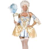 Disfraz barroco dorado Fever para mujer