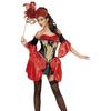 Disfraz barroco negro Fever para mujer