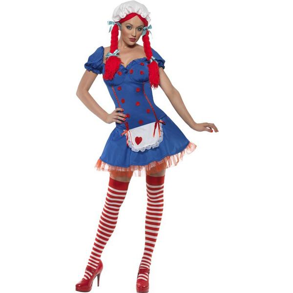Disfraz de muñeca de trapo Fever Disfraces sexy | FunideliaES ...