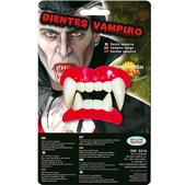 Dentadura completa colmillos de vampiro