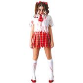 Disfraz de colegiala zombie
