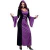 Disfraz de sexy vampiresa púrpura