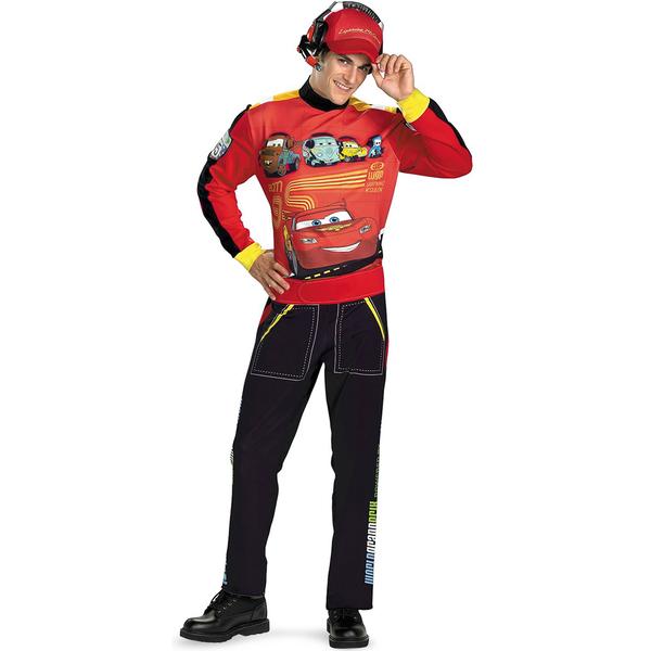 Disfraz de Rayo McQueen para adulto Cars | FunideliaES - Ropa Online