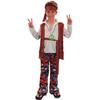Disfraz de niño hippie